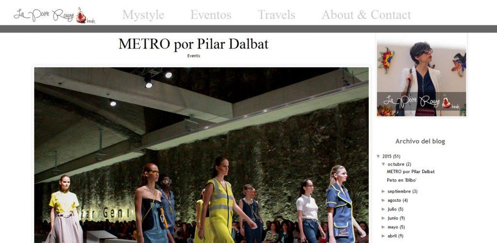 Desfile Pilar Dalbat blogger 2