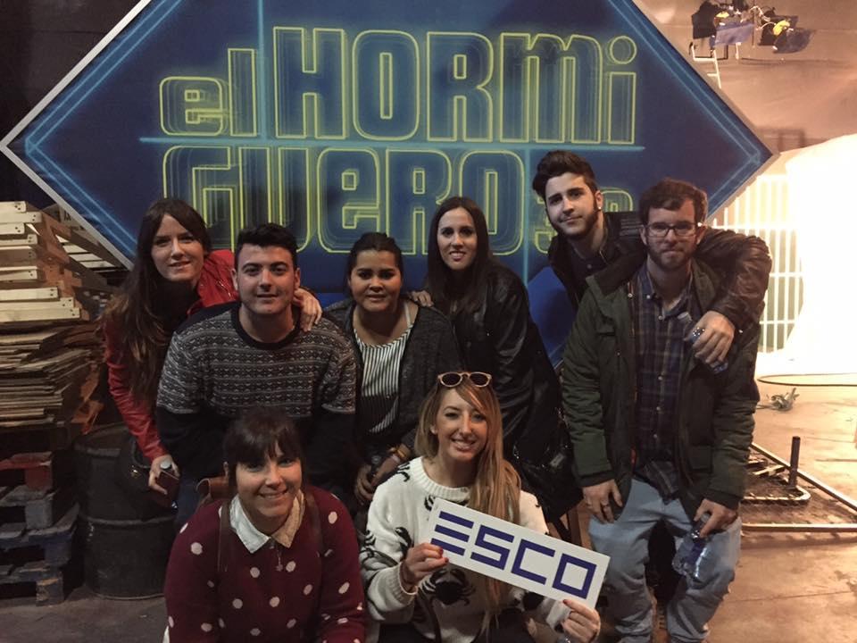 Viaje a Madrid de los alumnos de ESCO