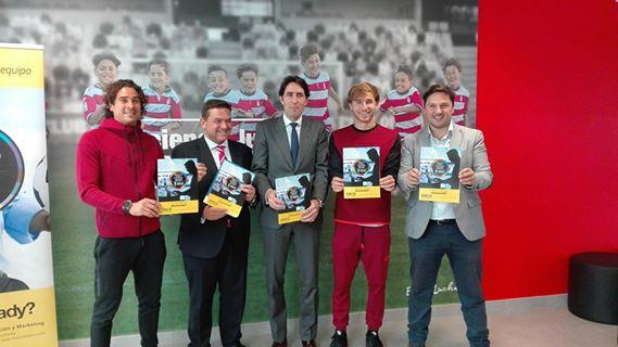 Presentación de la nueva edición del Máster en Gestión, comunicación y Marketing Deportivo celebrada en la Ciudad Deportiva del Granada CF