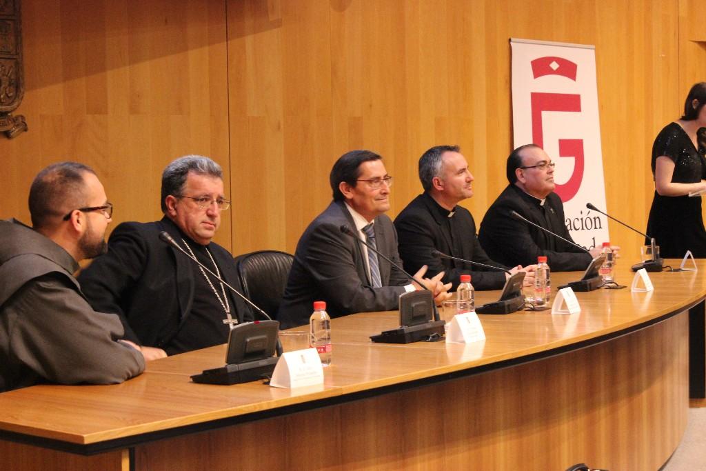 Mesa presidencial de la I Edición de los Premios San Francisco de Sales