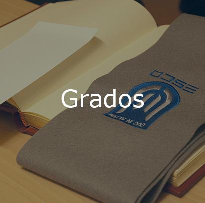 Grados universitarios en ESCO